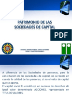 Patrimonio de Las Sociedades de Capital. en Powerpoint.ok