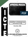 Aicte Approval Process 2006(Part-I)