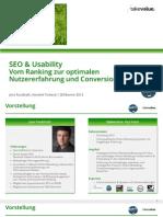 Sekomm 2012 SEO Usability Fauldrath Terbeck
