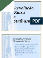 Revolução Russa e Stalinismo