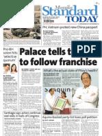 Manila Standard Today - Friday (November 23, 2012 ) Issue