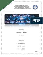 CSST 133-Computer Networks Ass