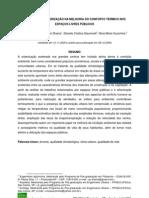 EMPREGO DA ARBORIZAÇÃO NA MELHORIA DO CONFORTO TÉRMICO NOS