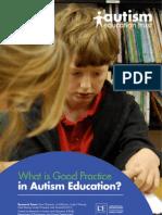 Autism_good Practice Report in Education