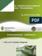 Aloe Vera - Penetrabilidad- Cusco2012