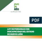 Ley de personas con discapacidad del Estado de Nuevo León