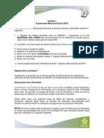 Actividad Unidad 1. Explorando Microsoft Excel 2010