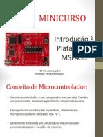 Minicurso - MSP430