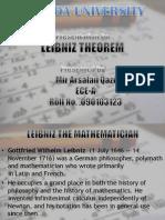 Leibniz Theorem