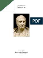 (E-Book Ita) Cicerone - Dei Doveri