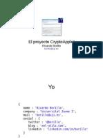 El proyecto CryptoApplet de la Universitat Jaume I
