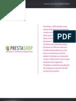 PrestaShop Feature List En