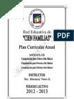 Plan Anual de Computación Ciclo Basico