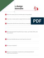 Logo Design Brief Questionnaire