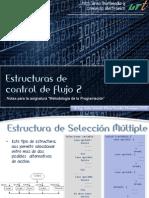Estructuras de Control de Flujo2