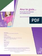 Ana te guia - Guía del facilitador/a para la prevención del embarazo en la adolescencia