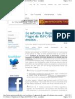 APORTACIONES. Nuevo Reglamento INFONAVIT Resumen Comentarios