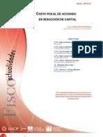 FISCO. Abr. Cto Fiscal Reducción Capital