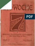 Die Woche -Moderne Illustrierte Zeitschrift. Nummer 26. Berlin, den 25. Juni 1910