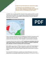 Demanda de Nicaragua Ante La Corte Internacional de Justicia de La Haya