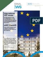 WTS. International VAT Issues