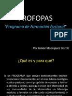 PROFORPAS Formacion Pastoral