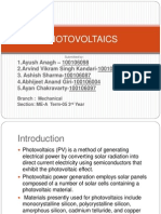 Ncer Presentation on Photovoltaics