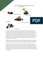 Maquinaria para movimiento de tierra tipos de transmisión y accionamiento