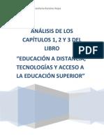 ANÁLISIS DE LOS CAPÍTULOS 1