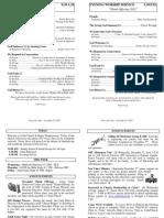 Cedar Bulletin Page - 11-25-12