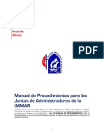 Manual de Procedimientos Juntas Administradores