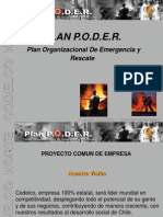 Plan organizacional de emergencia y rescate P.O.D.E.R.
