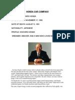 Fund Management Honda