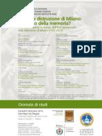 1162. La distruzione di Milano