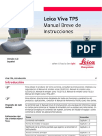 Leica Viva TPS GettingStartedGuide Es