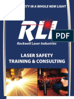 Rockwell Laser Industries - Laser Safety Training and Consulting Brochure