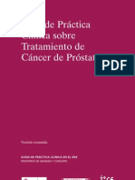 Guía prostata