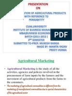 Presentation of Rural Marketing