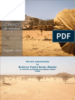 AMURT Burkina Faso Carnet de mission I