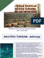 Strategija Razvoja Nautickog Turizma Hrvatske[1]