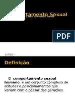 Comportamento Sexual na Adolescência - Prof Sideli