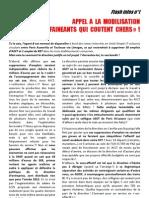 tract n°1 CGT ECT PAZ appel à la mobilisation décembre 2012