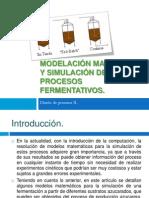 Modelación matemática y simulación de procesos fermentativos