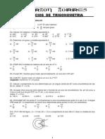 exercícios  extras de trigonometria novo 1