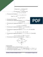 Rumus Lingkaran Matematika Sma
