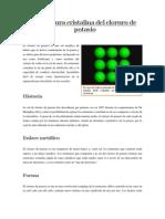 Estructura Cristalina Del Cloruro de Potasio