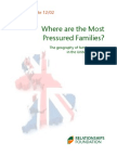 Where are the Most Pressured Families? The Geography of Family Pressure in the United Kingdom