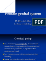 Cervical Polyp and Carcinoma_pathology (Lect22-11)