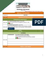 Programa Congreso Internacional de Adicciones