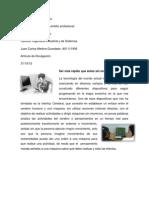 Articulo de Divulgacion Juan Carlos Medina